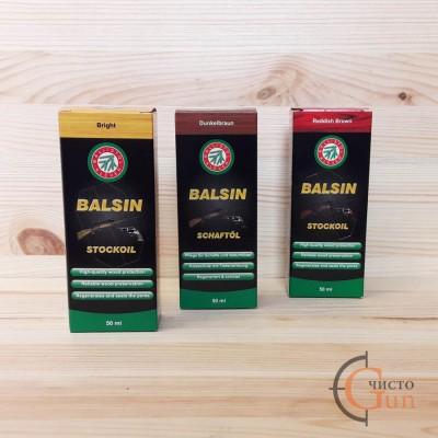 Масло для обработки дерева Ballistol Balsin Schaftol светлое