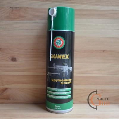 Масло Gunex оружейное 400 мл