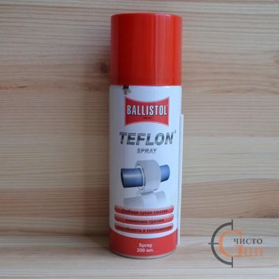 Смазка тефлоновая Ballistol Teflon Spray 200 мл