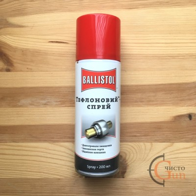 Сухая смазка для оружия Ballistol Teflon Spray