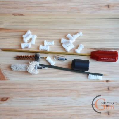 Набор Dewey Lug Recess Cleaning Kit для чистки винтовок AR10 калибр .308 Win