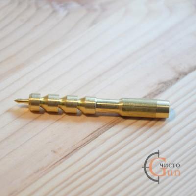 Вишер латунный Dewey для чистки пистолетов и револьверов калибров .45 / .44