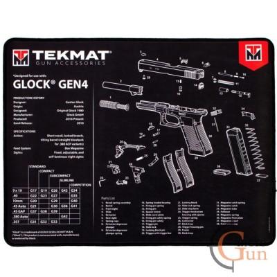 Коврик TekMat Glock Gen 4 для чистки пистолета